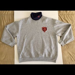 Majestic Chicago Bears Vintage Turtleneck Sweater